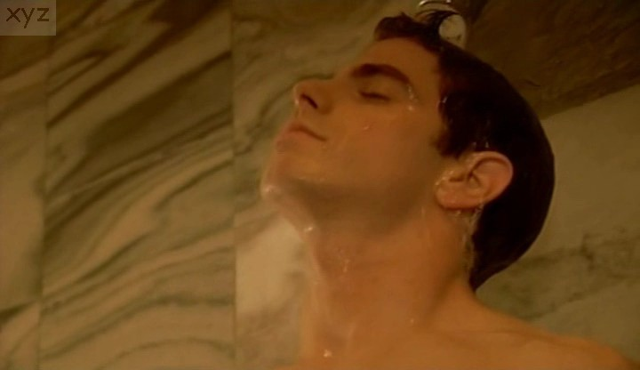david moretti nude in shower scene gay male celebs com