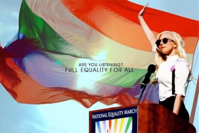 L'EuroPride 2011 di Roma compie 10 anni, ricordiamo il discorso di Lady Gaga - VIDEO (Lady Gaga)