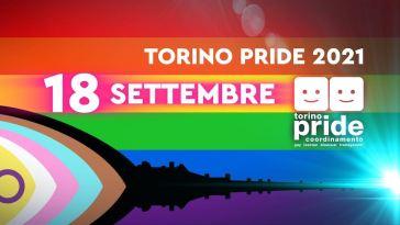 Torino Pride 2021, tutti in piazza il 18 settembre