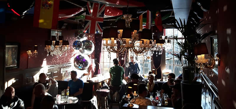 The Queens Head gay bar Amsterdam