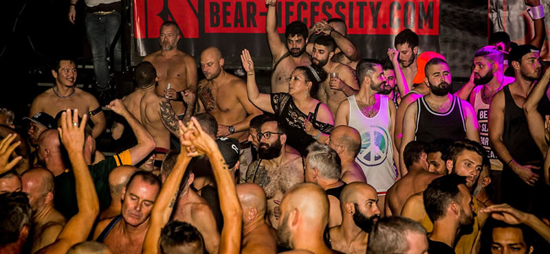 Bear Necessity gay club Amsterdam