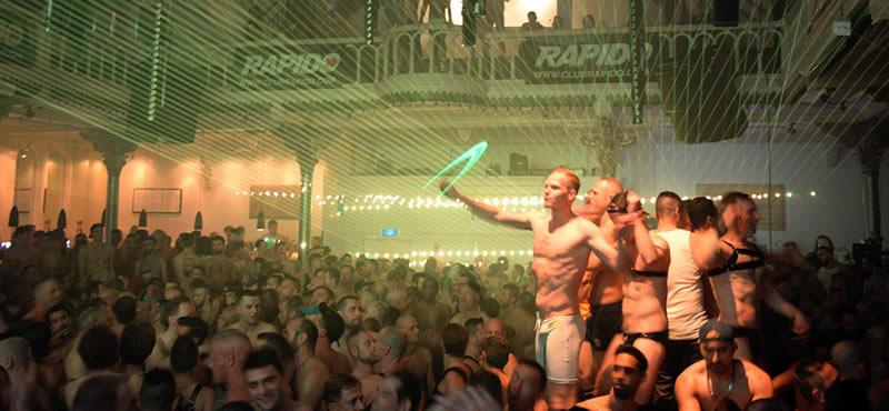 RAPIDO gay club Amsterdam