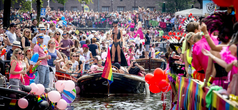 Gay Pride Amsterdam 2019 Pride On A Canal Only In Amsterdam