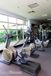 24-hour Gym with complete equipment