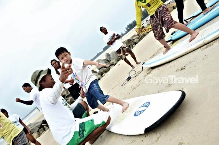 Free Surfing Clinic also available for Children