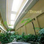 The Landscape that cools down the hotel's interior