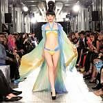 Gottex & Gideon Oberson signature piece - model Jessica Minh Anh - photo John Oakley