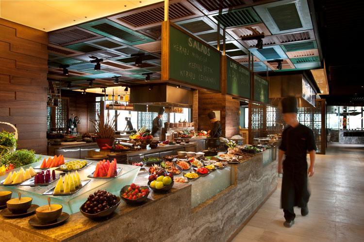 The restaurant's Full Makan Kitchen Experience buffet