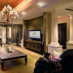 The living room of the Presidential Suite epitomizes the snese of luxury