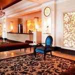 Simple yet grand lobby at The Papandayan