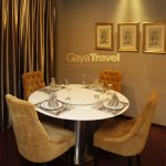 Dinning room in the presidential suite