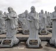 500 statues featuring Ksitigarbha Bodhisattva