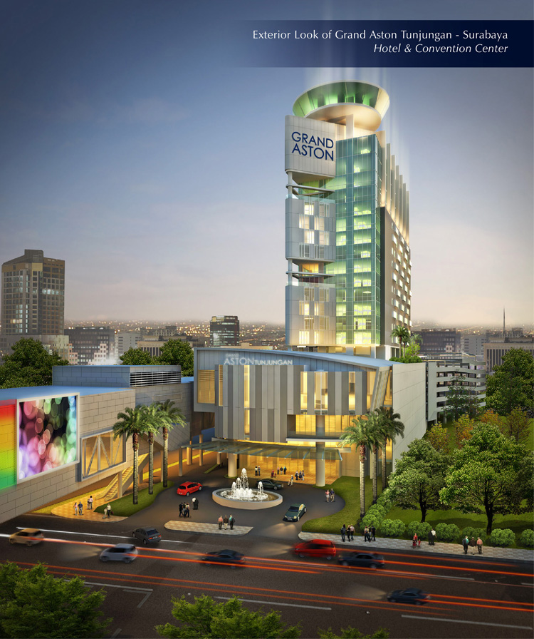Exterior Look of Grand Aston Tunjungan Hotel & Convention Center - Surabaya