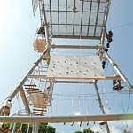 Various fun and challenging activities for teambuilding