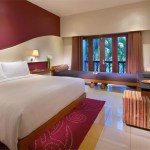 Cozy and lively rooms at Hard Rock Hotel Bali