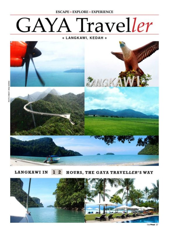 LANGKAWI in 12 Hours, The Gaya Traveller's Way