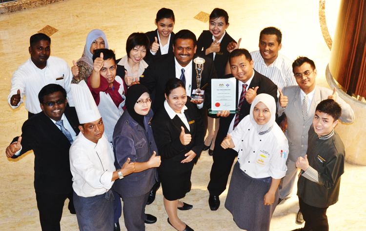 Grand Dorsett Subang Reconised for Its Achievements in the Development of Human resources Within the Hotel