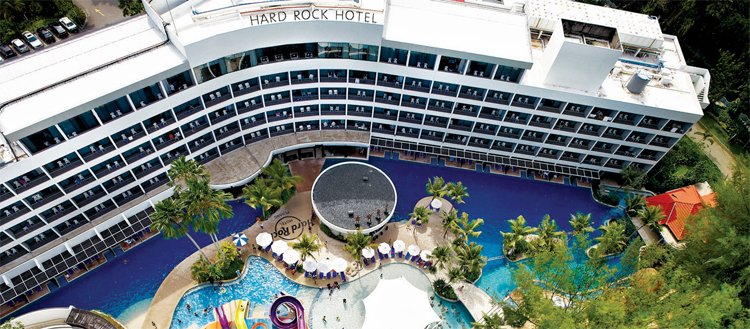 Hard rock hotel penang gaya travel magazine - Hard rock hotel penang swimming pool ...