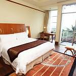 Deluxe room with the garden view