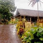 The compound of the Mah Meri Cultural Village