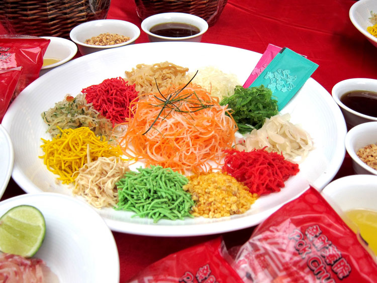 Chinese New Year - Yee Sang