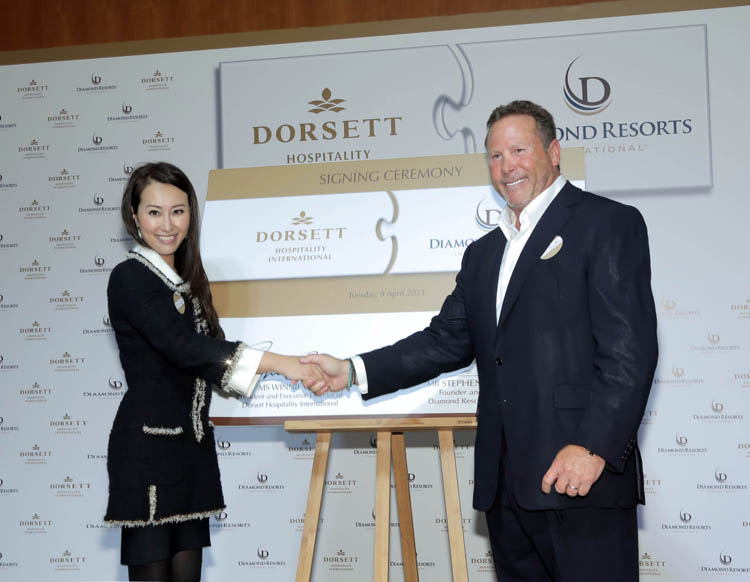 Winnie Chiu And Stephen Cloobeck Formalised The Affiliation Between Two Hospitality Giants Recently