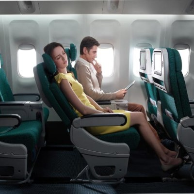 more special feature for Premium Economy Class