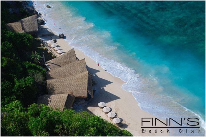 Finn's Beach Club Aerial View