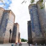 Ruins of the Ak-Saray Plac ein Shakhrizabs