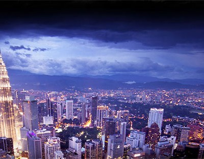 Kuala Lumpur picturesque view during the night - Tourism Malaysia