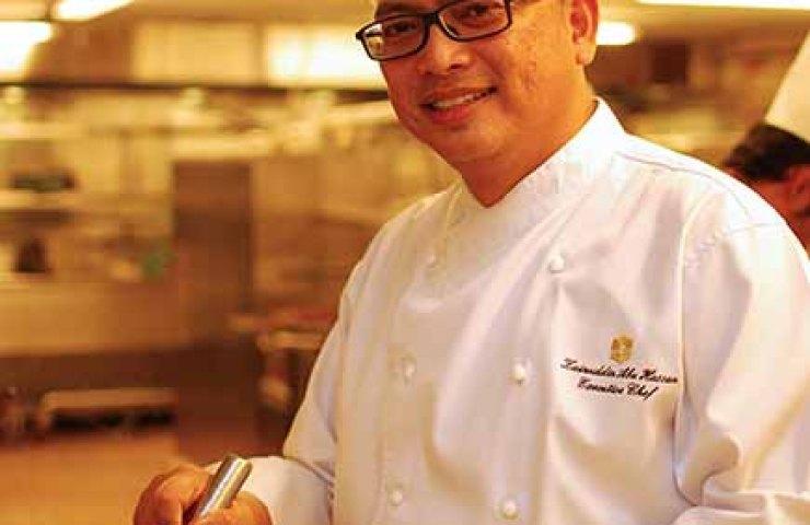 Executive Chef Zainuddin