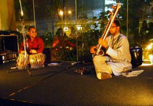 Traditional Indian musical performance