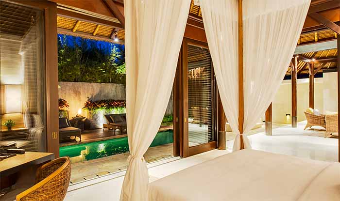 A Bedroom at The Chedi Club Jimbaran