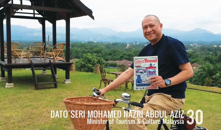 DATO´SERI MOHAMED NAZRI ABDUL AZIZ, Minister of Tourism & Culture Malaysia