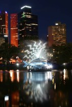 White Night - Yarra fish gobo