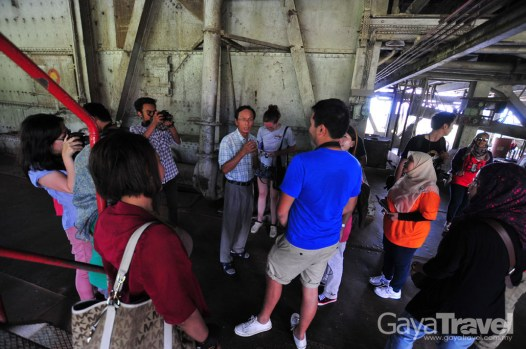 A chance to personally experience stepping into an actual Tin Dredge Ship and learn about the history of Perak tin mining.