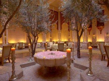 Amanjena - Marrakech, Morocco - The Restaurant