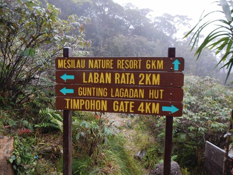 Backpacking in Sabah - Directions