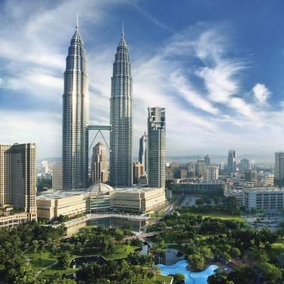 Exterior of Mandarin Oriental, Kuala Lumpur