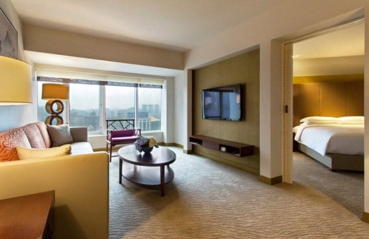 Grand Suite at the Grand Hyatt Taipei