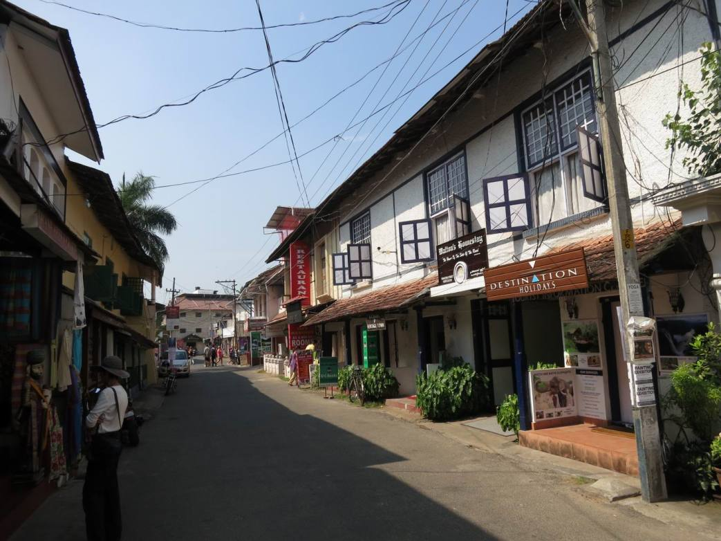Travel Day 1 - Princess Street in Fort Cochin, Kerala
