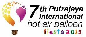 Logo The 7th Putrajaya International Hot Air Balloon Fiesta 2015