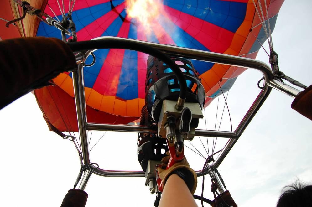 Close Up Balloon at The 7th Putrajaya International Hot Air Balloon Fiesta 2015