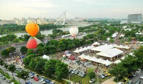 Concession Booth at The 7th Putrajaya International Hot Air Balloon Fiesta 2015