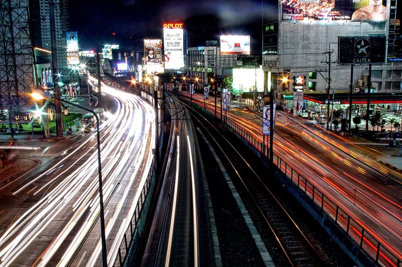 Lights of Metro Manila by Jared Famor