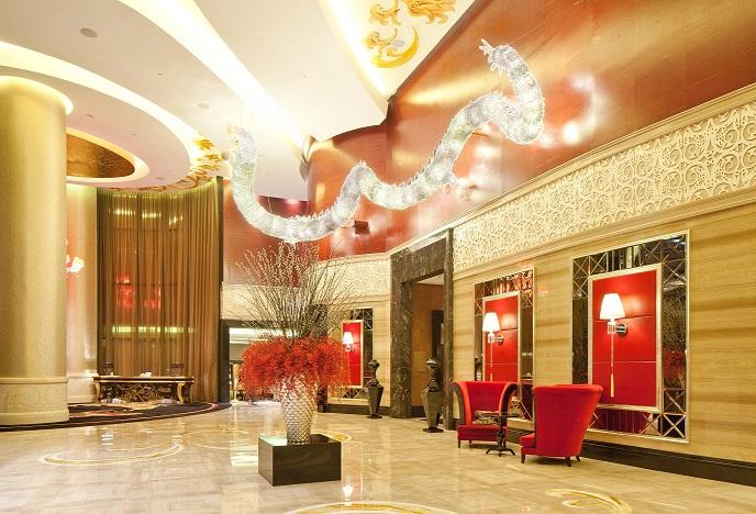 The Trans Luxury Hotel lobby