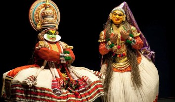 Kathakali is notable for its elaborate costumes, in-depth detailed gestures, body movements and facial expressions.