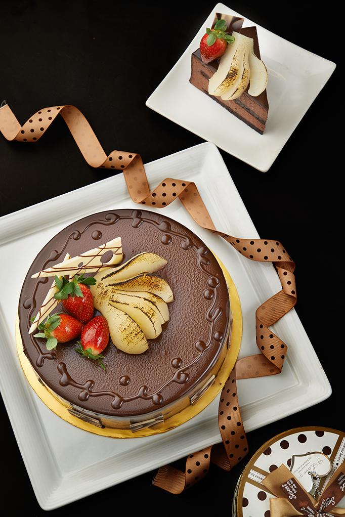 Helene Dream cake at Melting Pot Cafe Concorde Kuala Lumpur