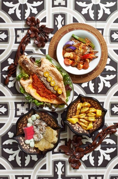 Mouthwatering Melaka-inspired dishes served during the month of Ramadan at Concorde Hotel Kuala Lumpur's Melting Pot Cafe