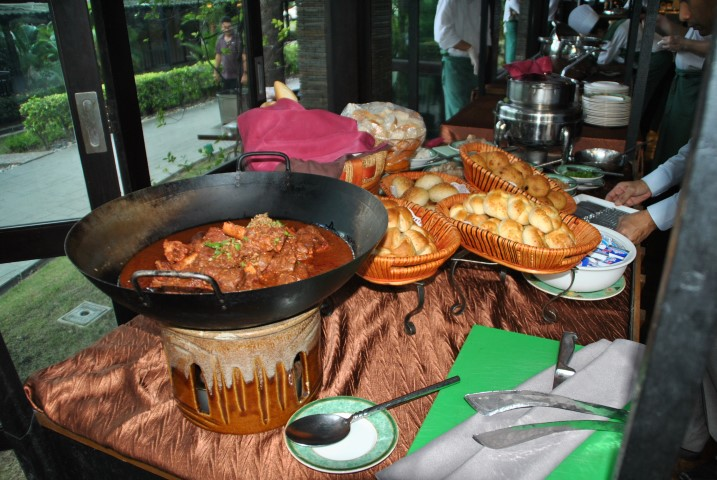 Sup Tulang Merah being served at Cyberview Lodge Resort & Spa's The Verandah restaurant during iftar